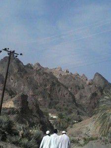 عکسی از نمای کوهستانی روستای پادیگ (کوه ون)