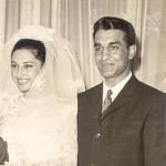 کامبیز صادق زاده میلانی به همراه همسرش