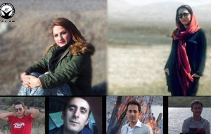 احضار و تکمیل پرونده هفت شهروند کامیارانی