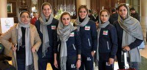 بانوان بسکتبالیست ایرانی