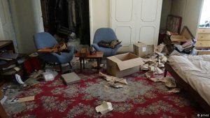 تصویری از سرقت نخست از منزل فروهرها