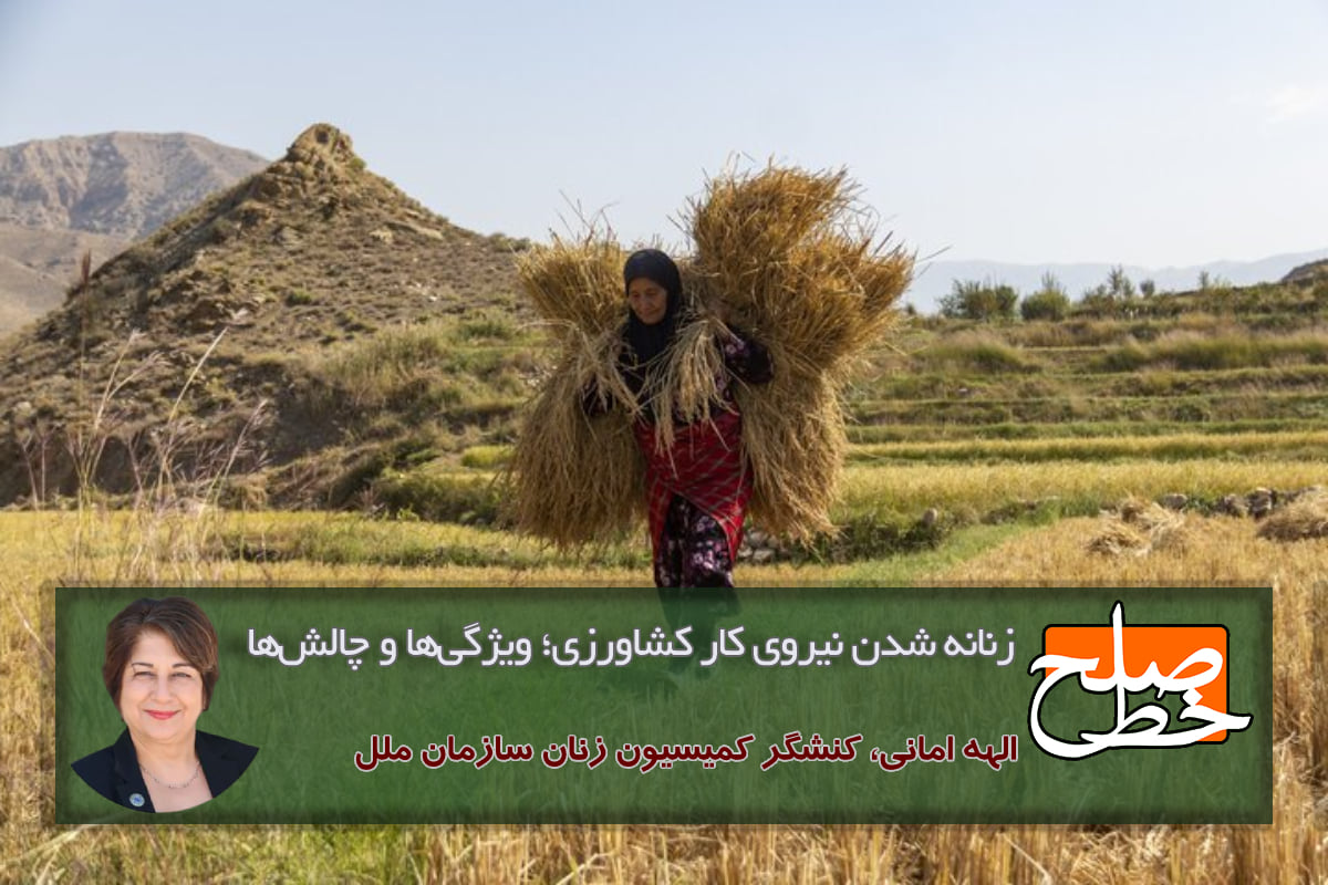 زنانه شدن نیروی کار کشاورزی؛ ویژگیها و چالشها/الهه امانی - خبرگزاری هرانا